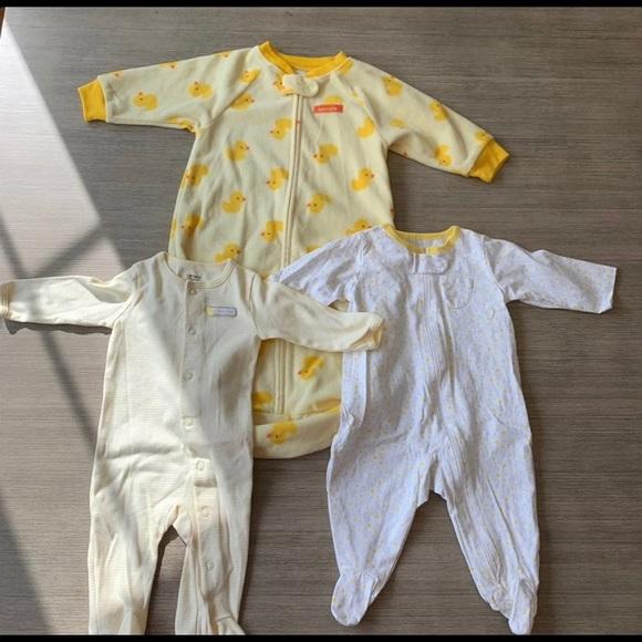 Carter's Other - Baby Sleep Sack and PJ's Duck Design